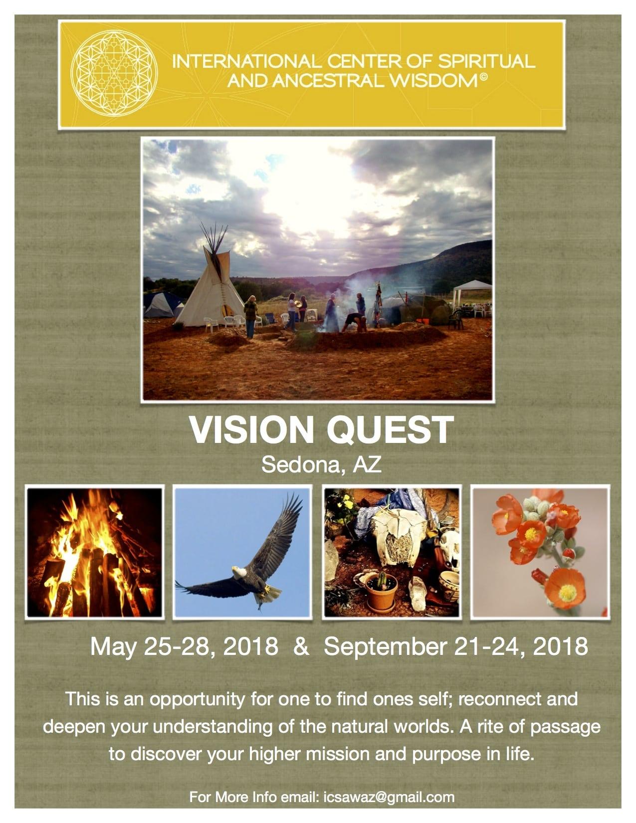 Vision Quest 2018 Flier
