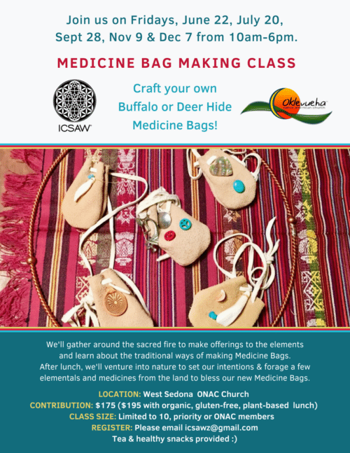 3 Medicine Bag Making Class